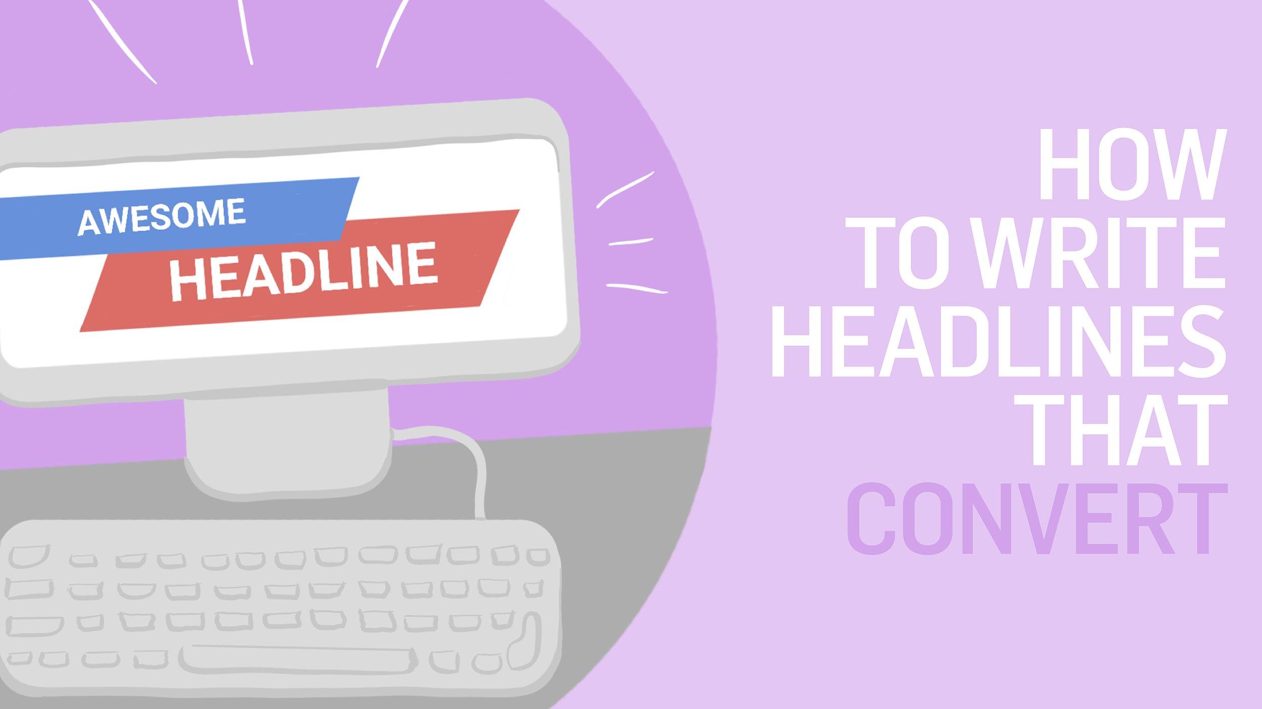 How to Write Headlines that Convert - amplihigher