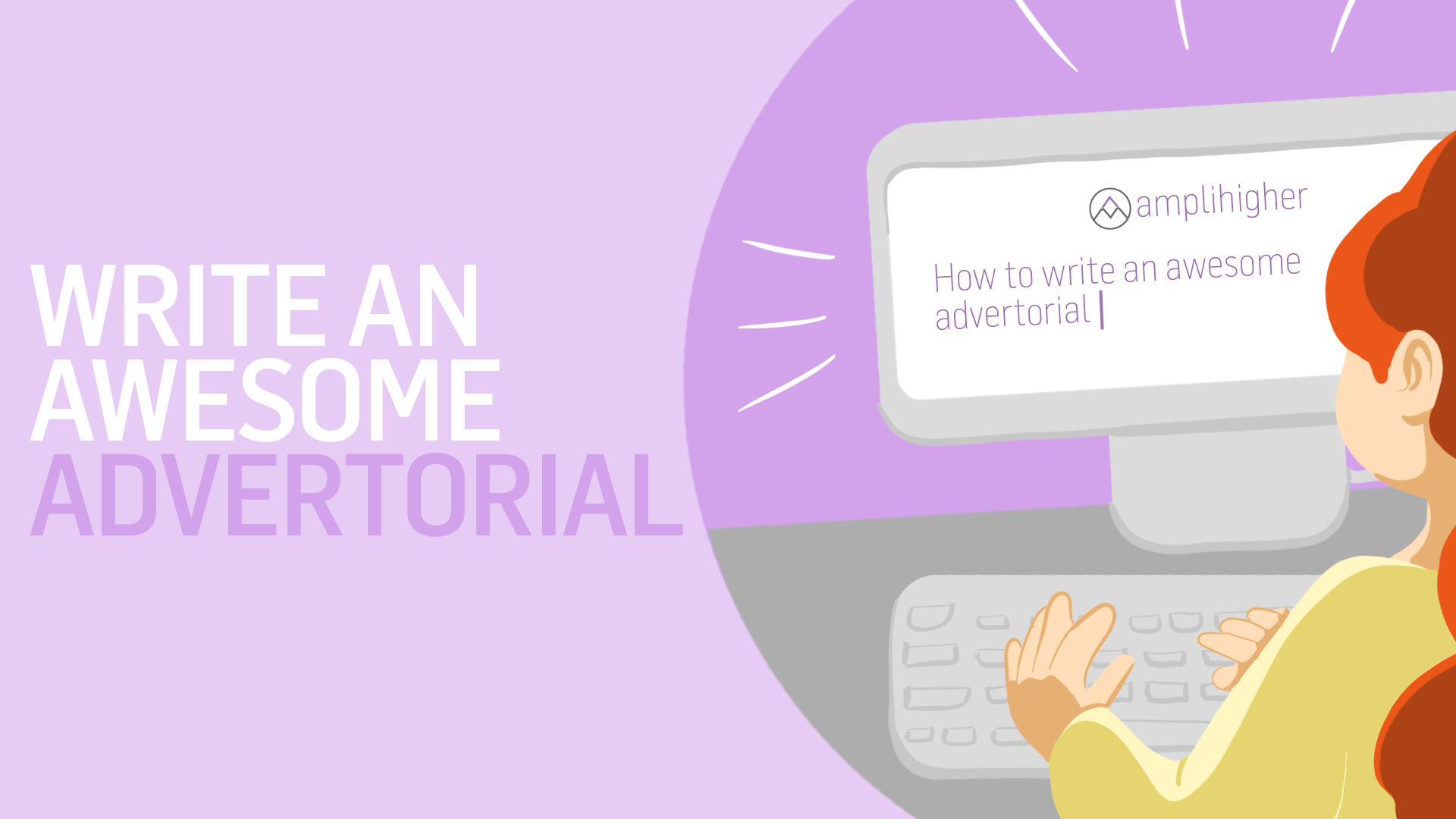 Writing an advertorial: copywriting services