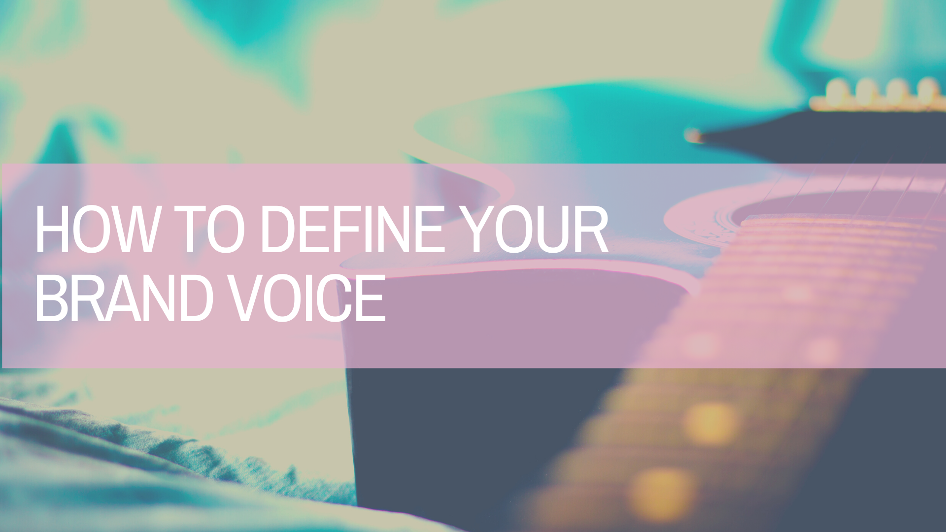 Do You Have a Defined Brand Voice?
