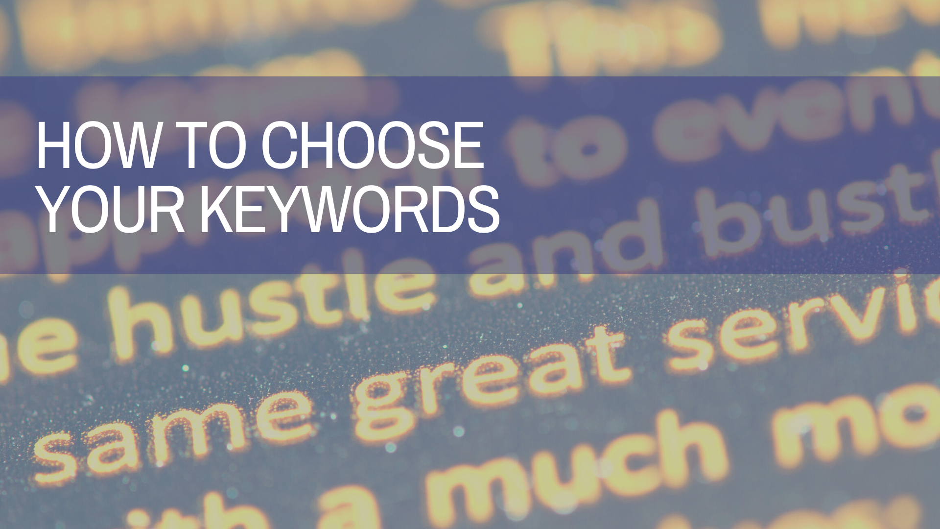 Is Your Keyword Strategy Working for You?