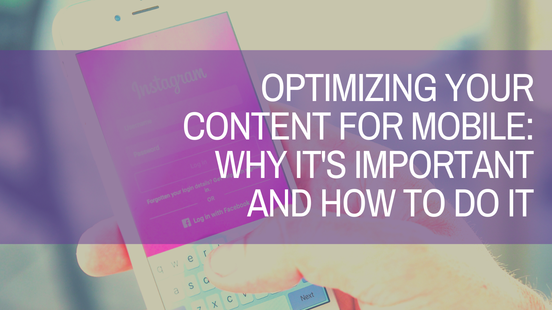 how to optimize copy for mobile