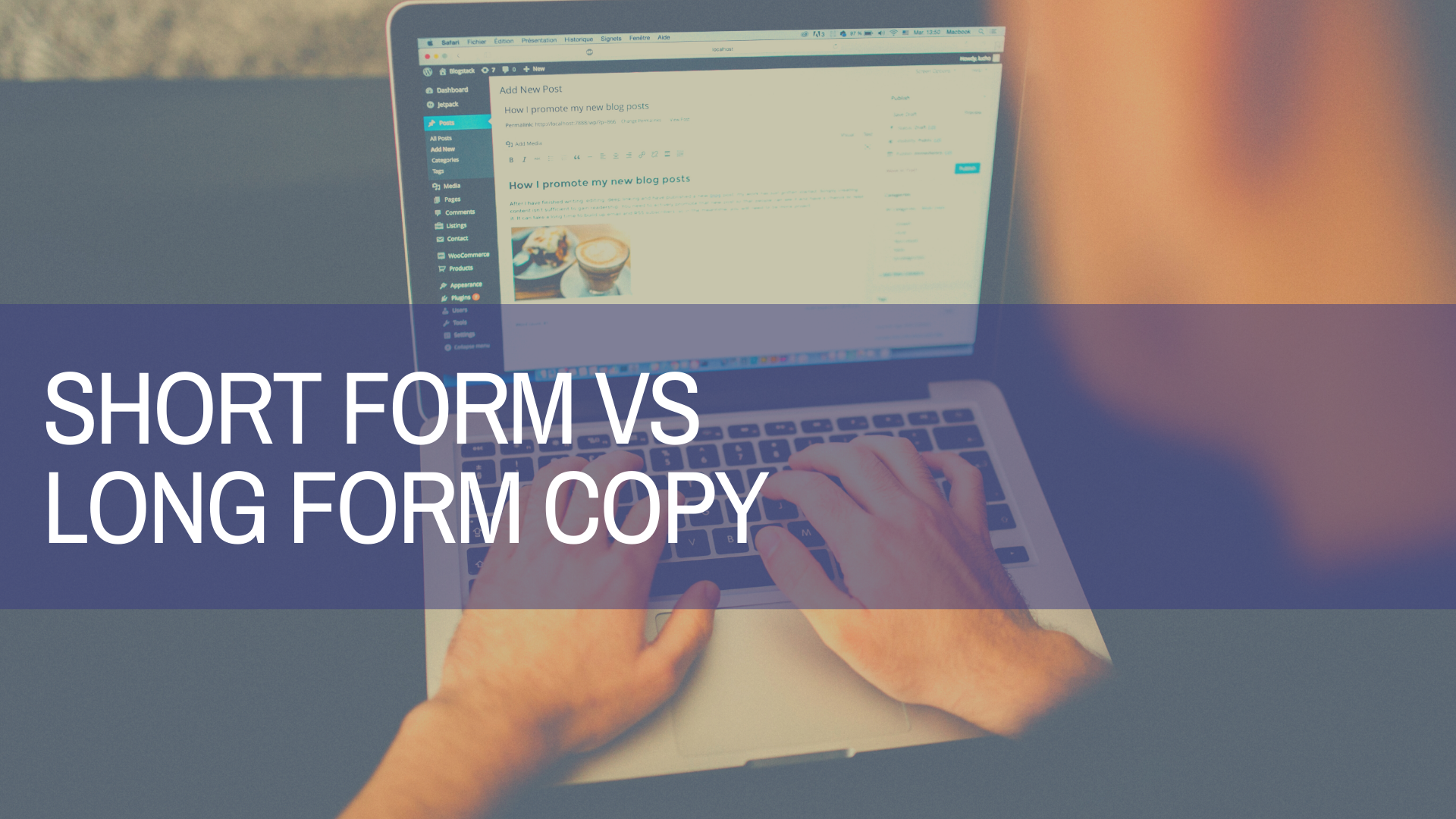 what is short form copy? what is long form copy?