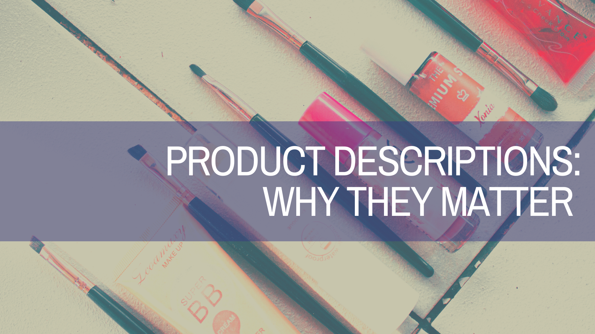 How Powerful are Your Product Descriptions?